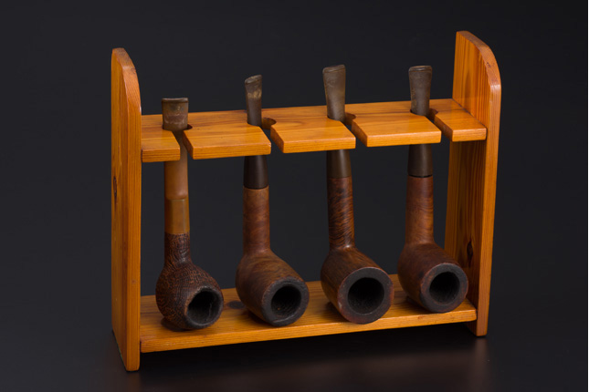 Pipes belonging to David Marshall