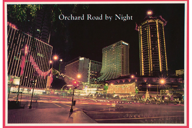Orchard Road by Night