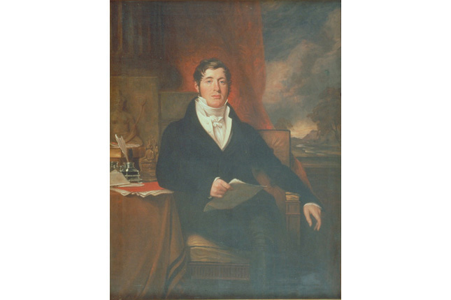 Portrait of Sir Stamford Raffles