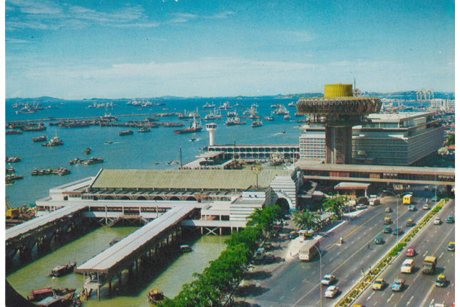 1973 Upgrade to Clifford Pier and Change Alley