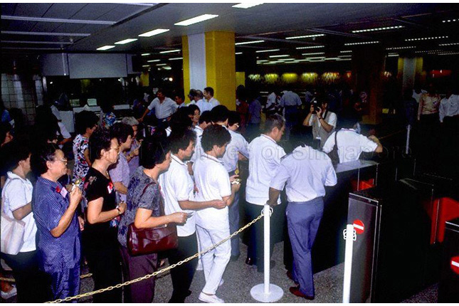First MRT Stations Open