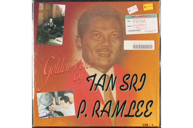 The Golden Voice of Tan Sri P. Ramlee