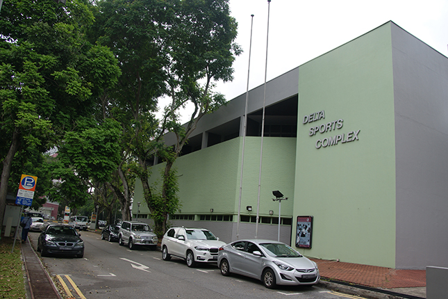Delta Sports Centre - 900 Tiong Bahru Road, Singapore 158790