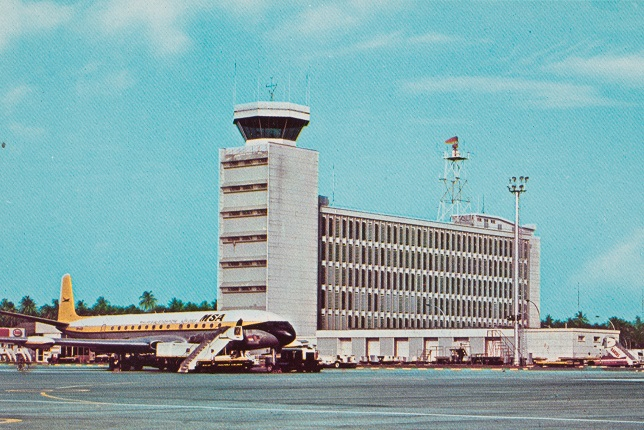 Paya Lebar Airbase (former Singapore International Airport)