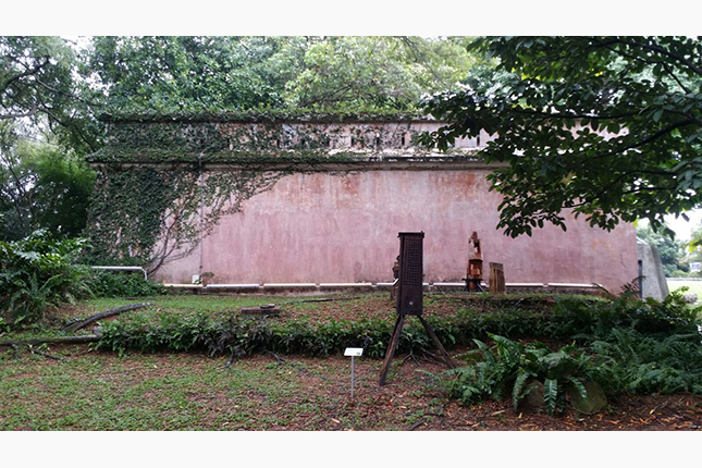 Remnants of Former Gate and Wall of Fort Canning 3