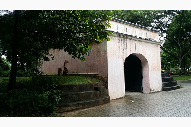 Remnants of Former Gate and Wall of Fort Canning 5