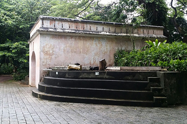 Remnants of Former Gate and Wall of Fort Canning 6
