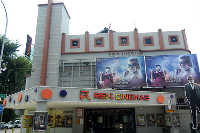 Rex Cinemas - 2 Mackenzie Road Singapore 228673
