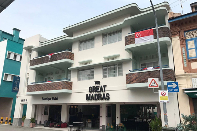 The Great Madras (Former Madras Hotel) - 28 Madras Street Singapore 208422