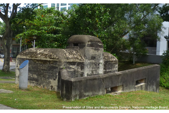 Pasir Panjang Machine-Gun Pillbox