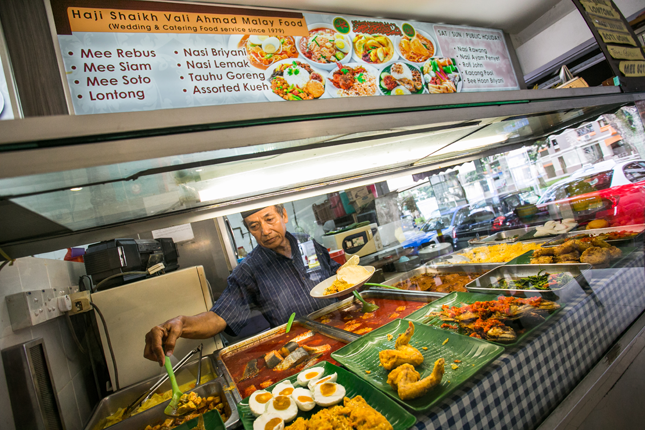 Haji Shaikh Vali Ahmad on Balestier Food Trail