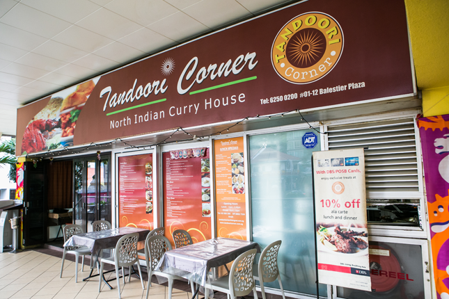 Tandoori Corner on Balestier Food Trail