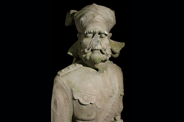 Sikh-Statue-at-the-Sikh-Statue-at-the-tomb-of-Mr-Wong-Chin-Yoke