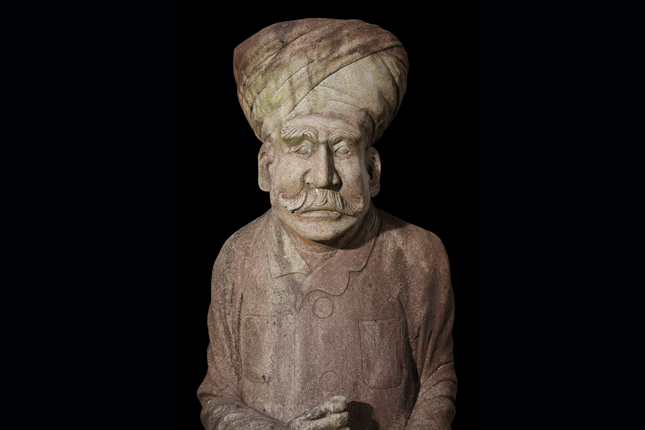Sikh-Statue-at-the-tomb-of-Mr-Ong-Sam-Leong