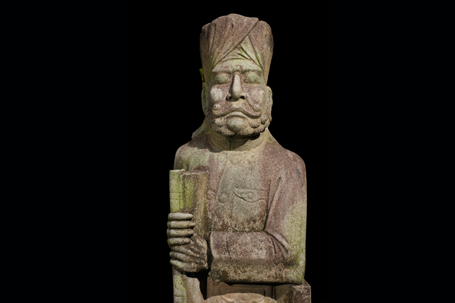 Sikh-Statue-at-the-tomb-of-Mr-Ong-Boon-Tat