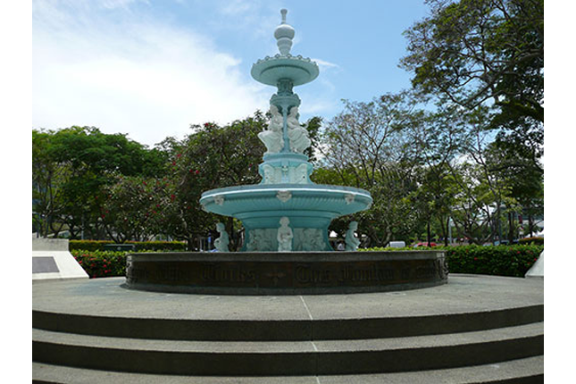 Esplanade Park Memorial - Tan Kim Seng Fountain
