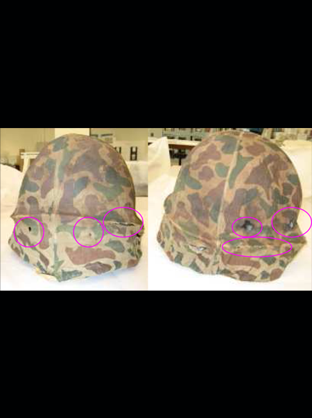 Makeover for an army helmet - Weapons of Mass Desire