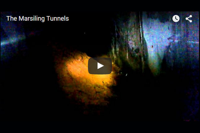 Heritage Through Google Glass - The Marsiling Tunnels.