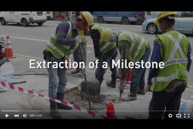 Extraction of a Milestone