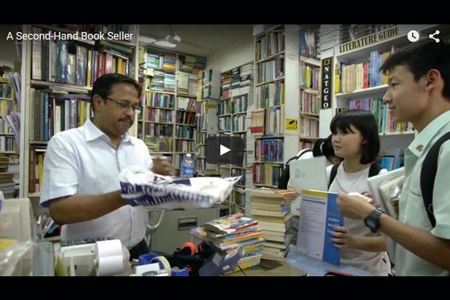 Heritage in Episodes - A Second-Hand Book Seller