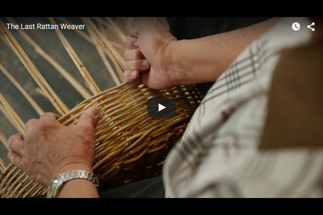 Heritage in Episodes - The Last Rattan Weaver
