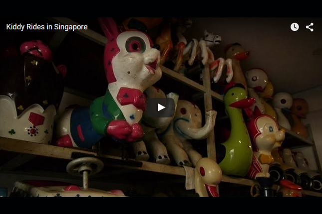 Heritage in Episodes - Kiddy Rides in Singapore
