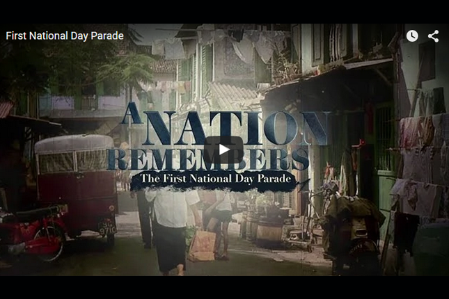 A Nation Remembers - The First National Day Parade