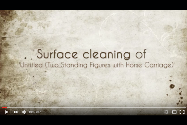 Painting Conservation - Surface Cleaning