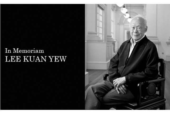 In Memoriam: Lee Kuan Yew 1923 - 2015