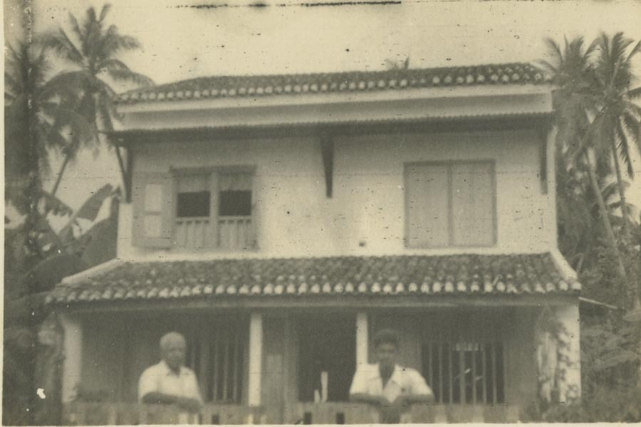 A photograph of the residence of N Somasundaram located at 174 Jalan Gajah Berang