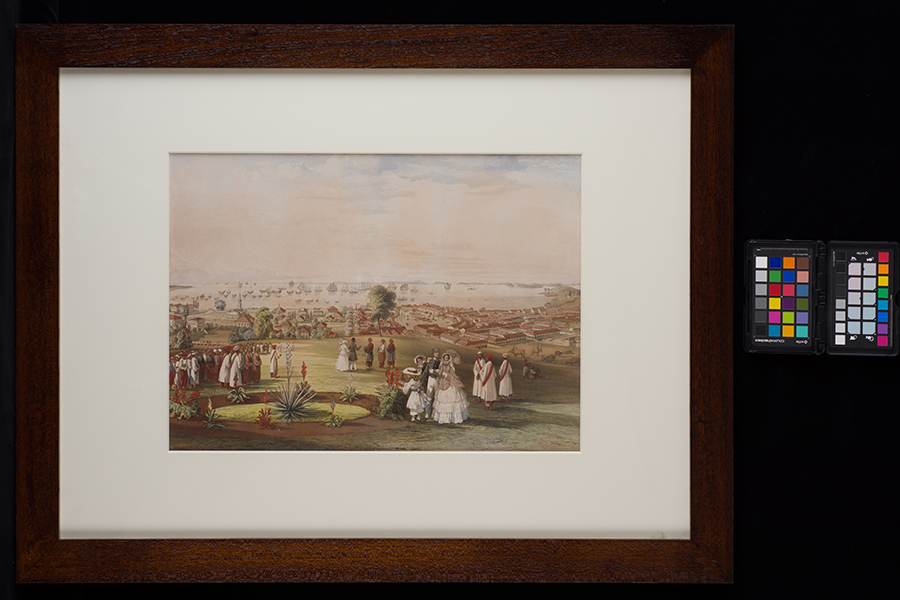 painting-entitled-view-of-singapore-from-government-hill