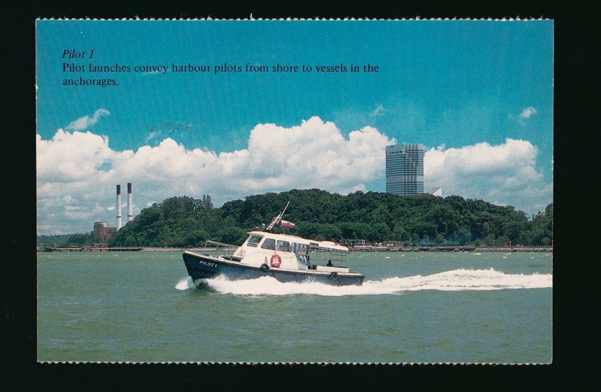 The Port of Singapore Authority (PSA) pilot launch, 'Pilot 1