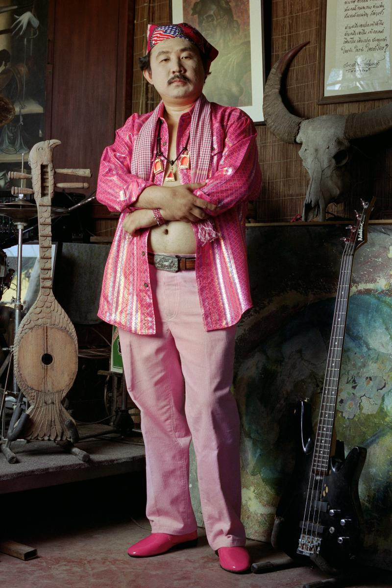 Shocking Pink Collection: Socialist Pink Man