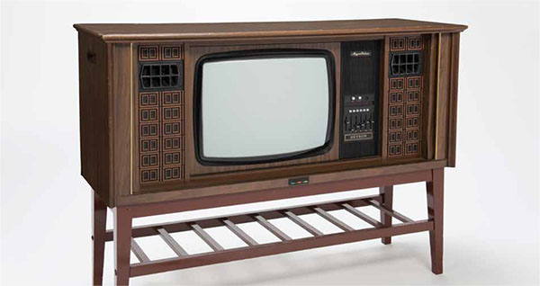 Setron television set, Singapore, 1960s–1970s. Collection of National Museum of Singapore