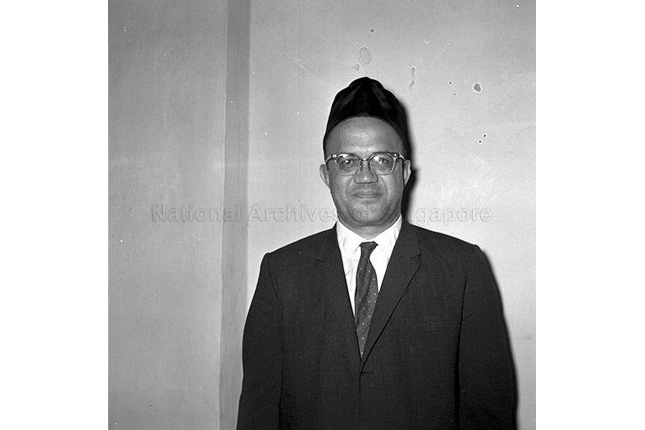 State Advocate-General Ahmad Ibrahim in 1962