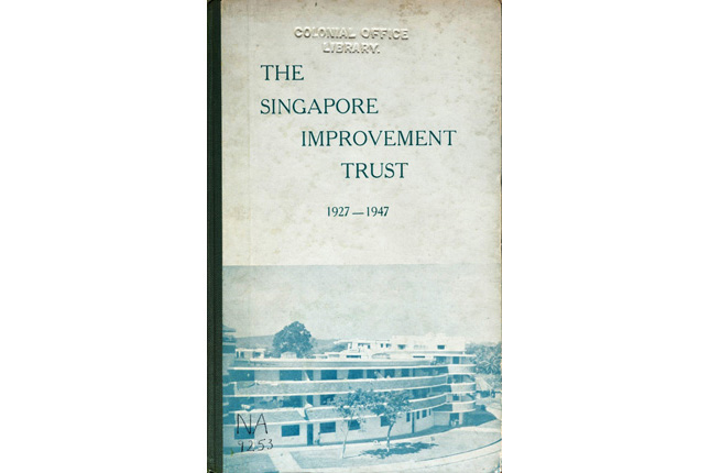 Singapore Improvement Trust 1927 - 1947
