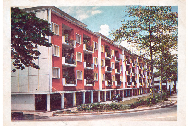 Singapore Improvement Trust flats dating to 1950s
