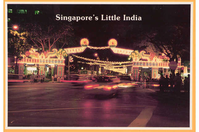 Deepavali in Little India 1980s