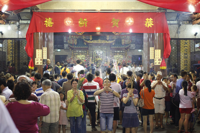 Lunar New Year at Kwan Im Thong Hood Cho Temple