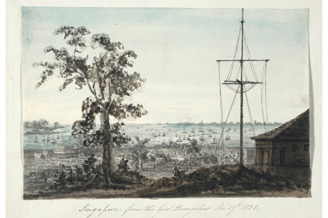 1828 View from Government Hill