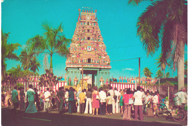 The Sri Srinivasa Perumal Temple at Serangoon Road