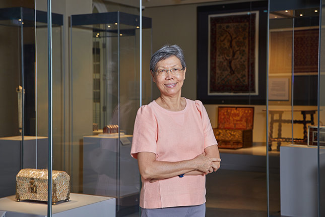 Wen Sze's mission is to get more people to visit Singapore's museums.