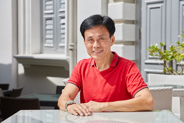 Pok Cheng San wants to influence how visitors perceive Singapore, beginning with an accurate understanding of the past.