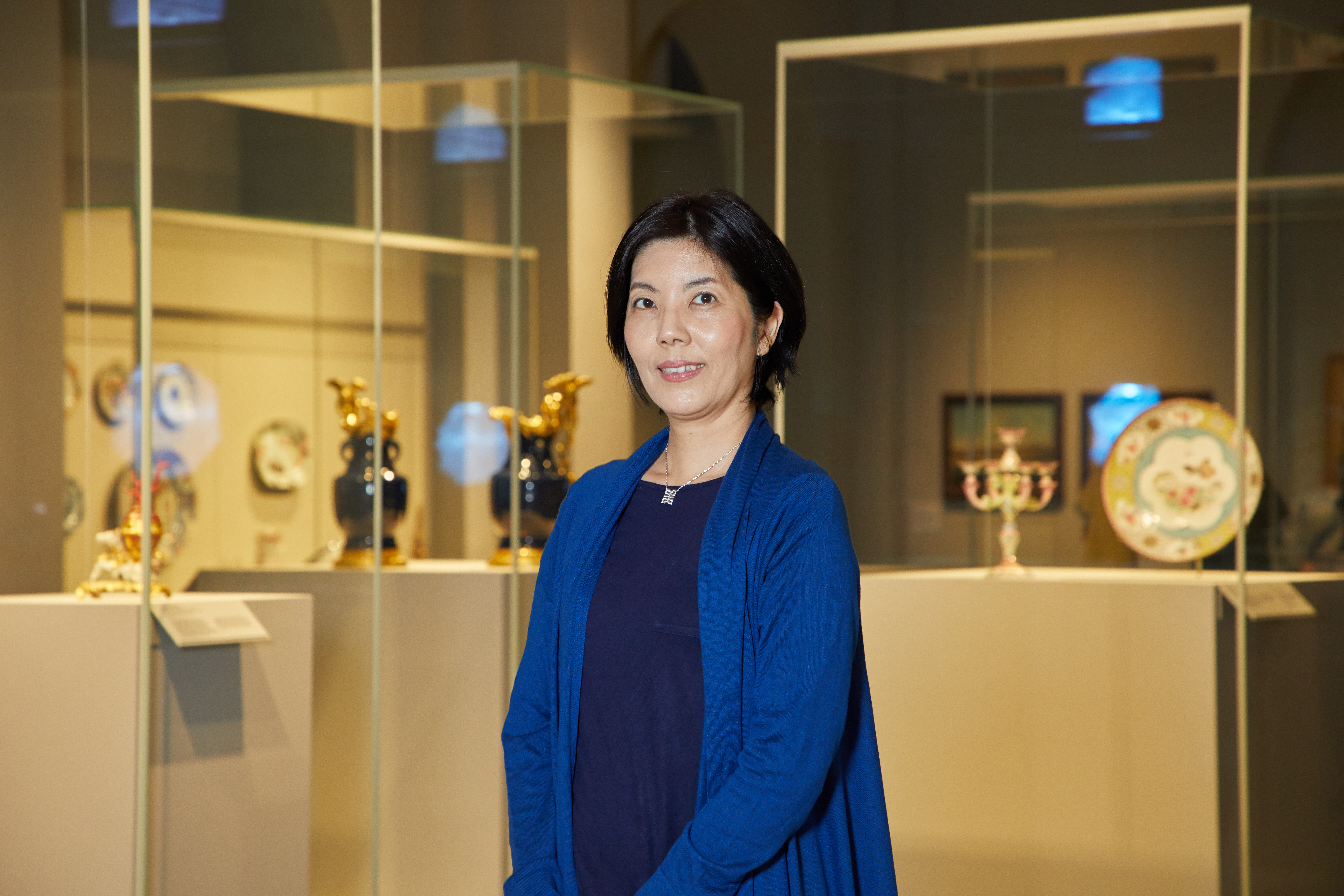 Being a docent has changed Akiko Kato's life.
