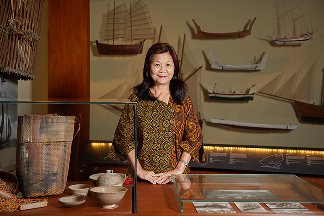 To May Hui, being a museum guide is about unlocking prisons of the mind.