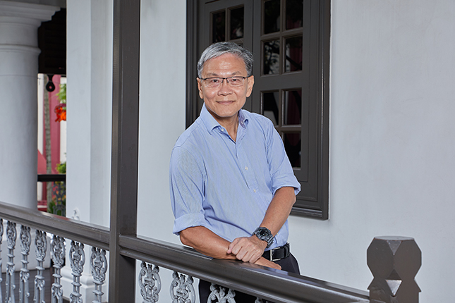 Boon Piang enjoys learning about history and is glad for the talks and training sessions for docents at the museums.