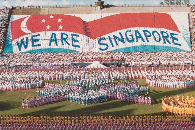 Singapore Youth Festival Opening Ceremony 1988