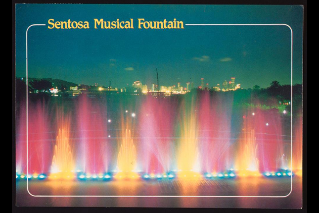 Musical Fountain at Sentosa
