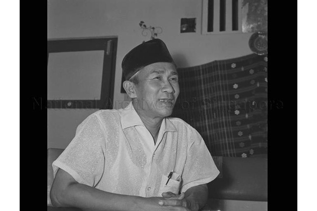 Zubir Said in an interview in 1957