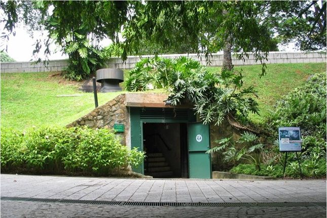 Fort Canning Command Centre
